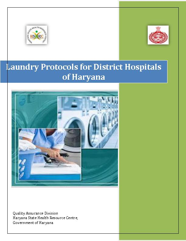 Laundry Protocols for District Hospitals