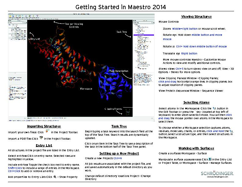 Getting Started in Maestro 2014