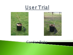 User Trial PowerPoint PPT Presentation