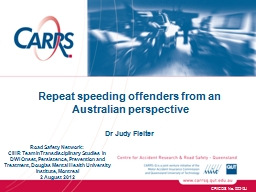Repeat speeding offenders from an