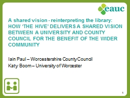 Iain Paul – Worcestershire County Council