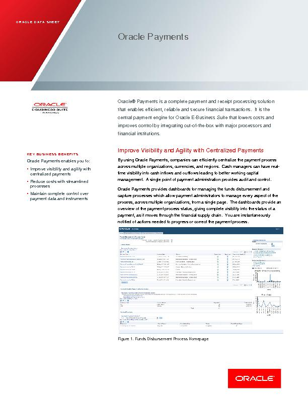 Oracle Payments PowerPoint PPT Presentation