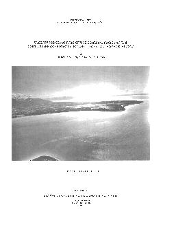 STATE OF ALASKA DEPARTMENT OF NATURAL RESOURCES SUBSURFACE STRUCTURE OF THE COHESIVE FACIES OF THE BOOTLEGGER COVE FORMATION SOUTHWEST ANCHORAGE ALASKA BY Catherine A
