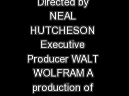 CAROLINA BROGUE Language and Life on the North Carolina Coast Produced and Directed by NEAL HUTCHESON Executive Producer WALT WOLFRAM A production of THE NORTH CAROLINA LANGUAGE AND LIFE PROJECT www