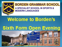 Welcome to Borden's