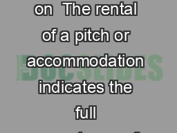 De lIll Campsite General Terms and Conditions of Sale in effect on  The rental of a pitch or accommodation indicates the full acceptance of the terms and conditions of sale by the contracting parties
