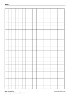 Math Expressions Centimeter Grid Paper Copyright  Houghton Mifflin Company