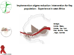 Implemention stigma reduction  intervention for Key populat PowerPoint PPT Presentation