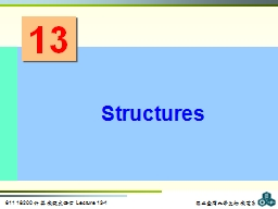 13 Structures PowerPoint PPT Presentation
