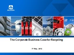 The Corporate Business Case for Recycling