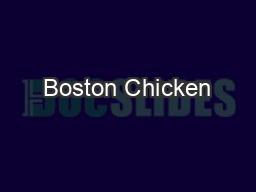 Boston Chicken
