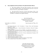 GOVE RNM NT OF ASSAM OFFICE OF THE PRINCIPAL CHIEF CONSE VAT OR OF FORE STS AND HEAD OF F RE ST FOR E ASSAM REHABARI GUWAHATI NOTIFICATION No