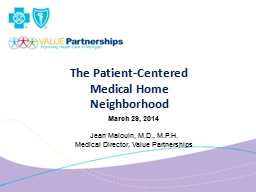 The Patient-Centered PowerPoint PPT Presentation