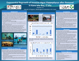 Exponential Regrowth of Invasive Algae PowerPoint PPT Presentation