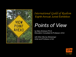 Points of View PowerPoint PPT Presentation
