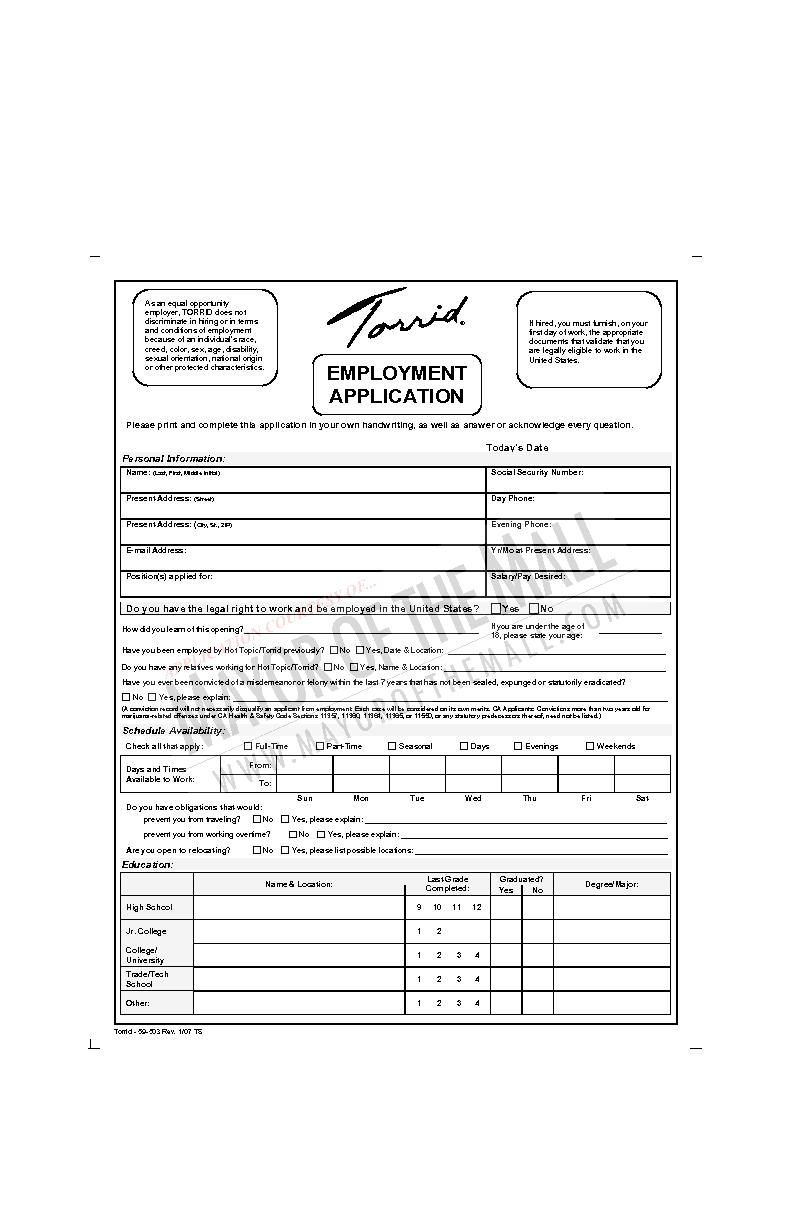 9-503T Rev 10/06 TS Please print and complete this application in your