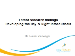 Latest research findings