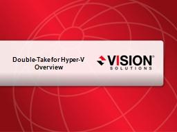 Double-Take for Hyper-V