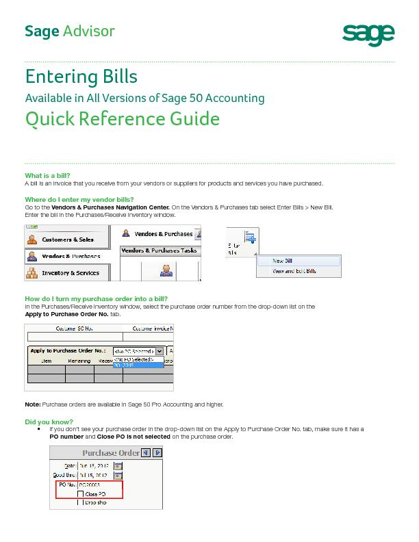 A bill is an invoice that you receive from your vendors or suppliers f