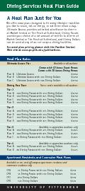 A Meal Plan Just for YouWe offer meal plans designed to t every lifes