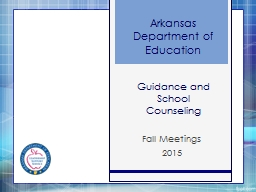 Guidance and School Counseling
