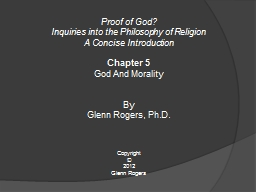 Proof of God? PowerPoint PPT Presentation
