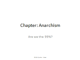 Chapter: Anarchism