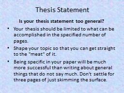 developing working thesis Question description in module 1, you were asked to review the assignment instruction for the module 8 portfolio project the portfolio assignment.