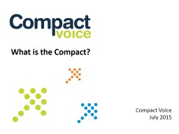 What is the Compact?