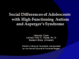 Social Differences of Adolescents