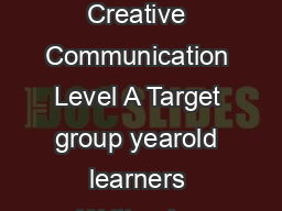 agony aunt all your problems solv Type of modul Creative Communication Level A Target group yearold learners Written by Csky Anna Prievara Tibor