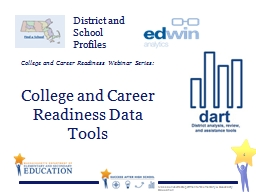College and Career Readiness Webinar Series: PowerPoint PPT Presentation