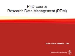 PhD-course