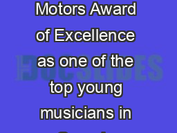 Jodi Proznick Biography Bassist and Educator In  after winning the General Motors Award of Excellence as one of the top young musicians in Canada bassist Jodi Proznick moved from her native White Roc