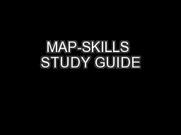 MAP-SKILLS STUDY GUIDE PowerPoint PPT Presentation