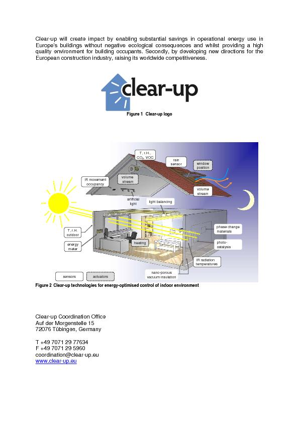 Clear-up will create impact by enabling substantial savings in operati PowerPoint PPT Presentation