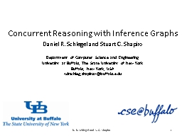 Concurrent Reasoning with Inference Graphs