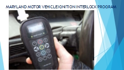 Pennsylvania s ignition interlock law requires an for Maryland motor vehicle laws
