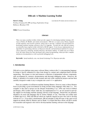 Journal of Machine Learning Research    Su bmitted  Re