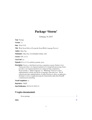Package Storm February   Type Package Version