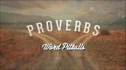 Word Pitfalls