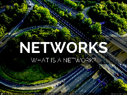 TODAY WE ARE GOING TO TALK ABOUT NETWORK GRAPHS.