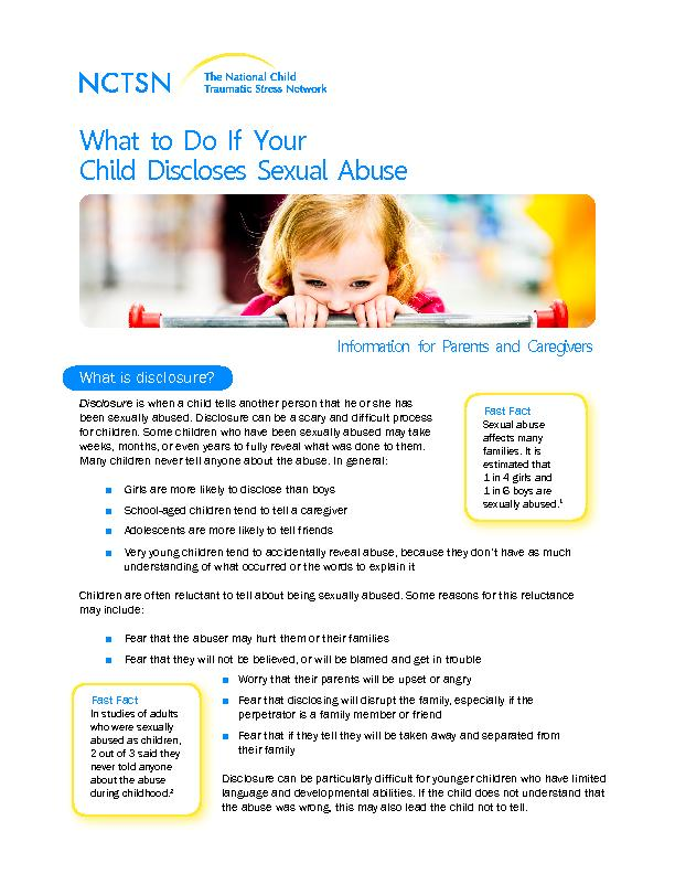 Information for Parents and Caregivers