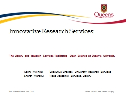 Innovative Research Services: