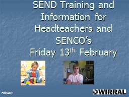SEND Training and Information for