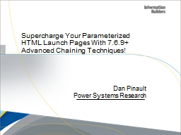 Supercharge Your Parameterized HTML Launch Pages With 7.6.9