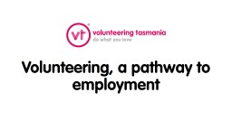 The Definition of Volunteering