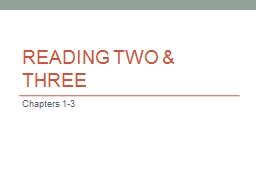 READING TWO &
