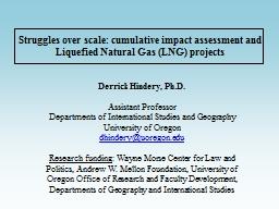 Struggles over scale: cumulative impact assessment and Liqu