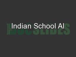 Indian School Al